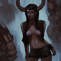 Voodoo Succubus by Ludic