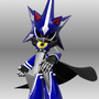 king metal sonic by nyancatdude
