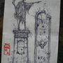 grave stone concept art by Sevens