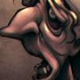 Nightmarish Portrait, Cleaning Lady