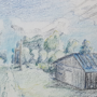 4/21/21: Landscape study (Eastern Europe)