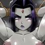 Raven restrained (Teen Titans)