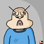 Angered man