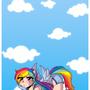 .:MLP Rainbow Dash:. by DawnieMewMew