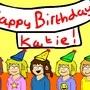 Happy Birthday Katie