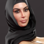 Beauty Hijabi Showing her Ass