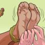 Violet (DBZ OC) Tickle Torture