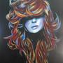 rainbow hair by porcelainskin
