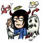 Angel Devil Guy by IkaroKruz