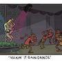 Makin' It Rain Dance by ToonHole