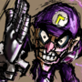 FULL SPEED WALUIGI [MARIO STRIKERS]
