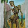 anorexy woman by neefu