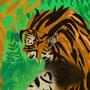 colored tigress by tkgmalice