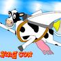 FlyingCow by DeftWise-Zero