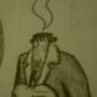 The Waiter by Littleluckylink