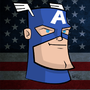 Captain America by DeepFriedNeil