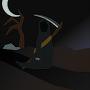 Reaperman at Nightfall by brentonalla1