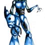 blue alien by bieta001
