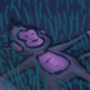 monkey out there just vibing