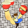 KICK PUNCH SAKURA!!! by Cricketto