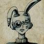Cyber Rabbit by RabbitTownAnimator