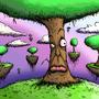 trees by battay