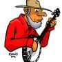 Banjo Farmer by HybridMind