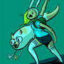 Battle Ready Fionna and Cake