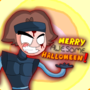 Merry Awesome Halloween by flashinger
