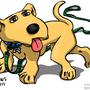 Yellow Dog by HybridMind