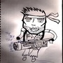 Machine gun joe by MasterGiygas