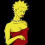Lisa Simpson by Kinsei
