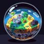 A globe of Terraria
