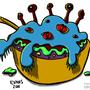 Alien Sundae by HybridMind