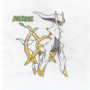 Arceus by Mikeaphobia