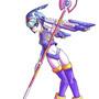 Megaman Zero: Fairy Leviathan by JewelMaiden