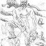 John Locke Vs Marvel by SirVego