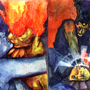 Fire and Ice by Kelroy