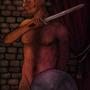 The naked warrior by Jaona