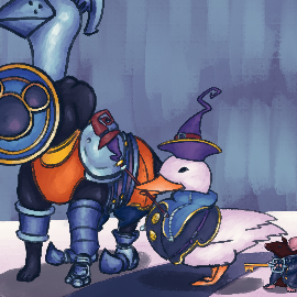 sora's animal friends are here to fight!