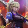 Fire police magicknight warrior