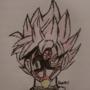 SSJR Masked Goku Black