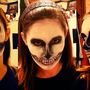 Skullface Makeup by Sabtastic