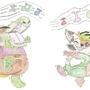 The Chibi Dance by GatorJGreenwood