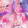 Pink dragon facial