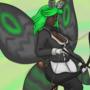 [c] Healer-archer moth lady