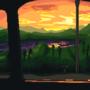 Sunset Driving
