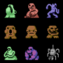 The rat game sprite collections