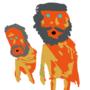 orangemeatmen by Machiosabre