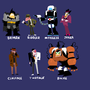 Batman Dudes by AlmightyHans